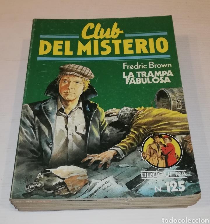 Tebeos: Lote 13 Comics Libros Club del Misterio Bruguera 62 109 115 122 124 125 131 132 137 138 140 141 147 - Foto 7 - 171065764