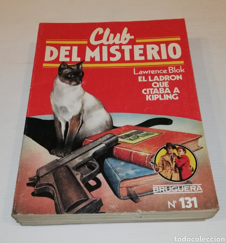 Tebeos: Lote 13 Comics Libros Club del Misterio Bruguera 62 109 115 122 124 125 131 132 137 138 140 141 147 - Foto 8 - 171065764