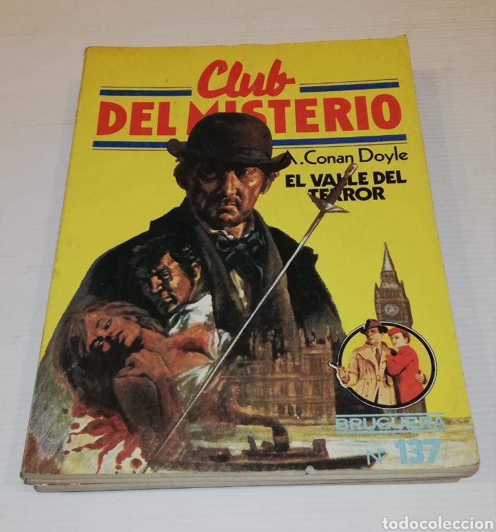 Tebeos: Lote 13 Comics Libros Club del Misterio Bruguera 62 109 115 122 124 125 131 132 137 138 140 141 147 - Foto 10 - 171065764