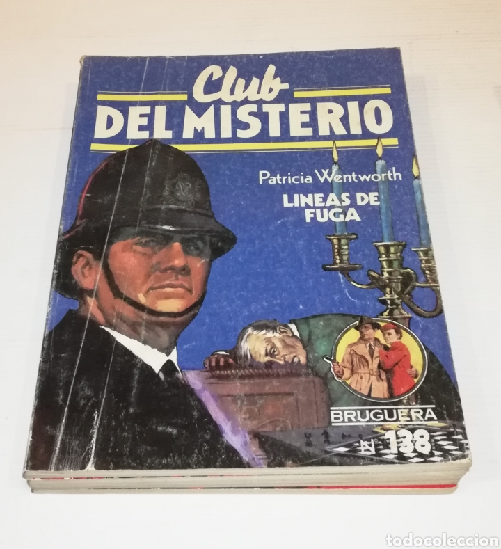 Tebeos: Lote 13 Comics Libros Club del Misterio Bruguera 62 109 115 122 124 125 131 132 137 138 140 141 147 - Foto 11 - 171065764