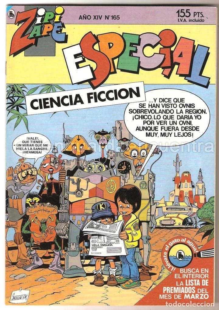 LOTE 4 ZIPI Y ZAPE EXTRA 167-166-165-164 NUEVO AÑO XIV (Tebeos y Comics - Bruguera - Otros)