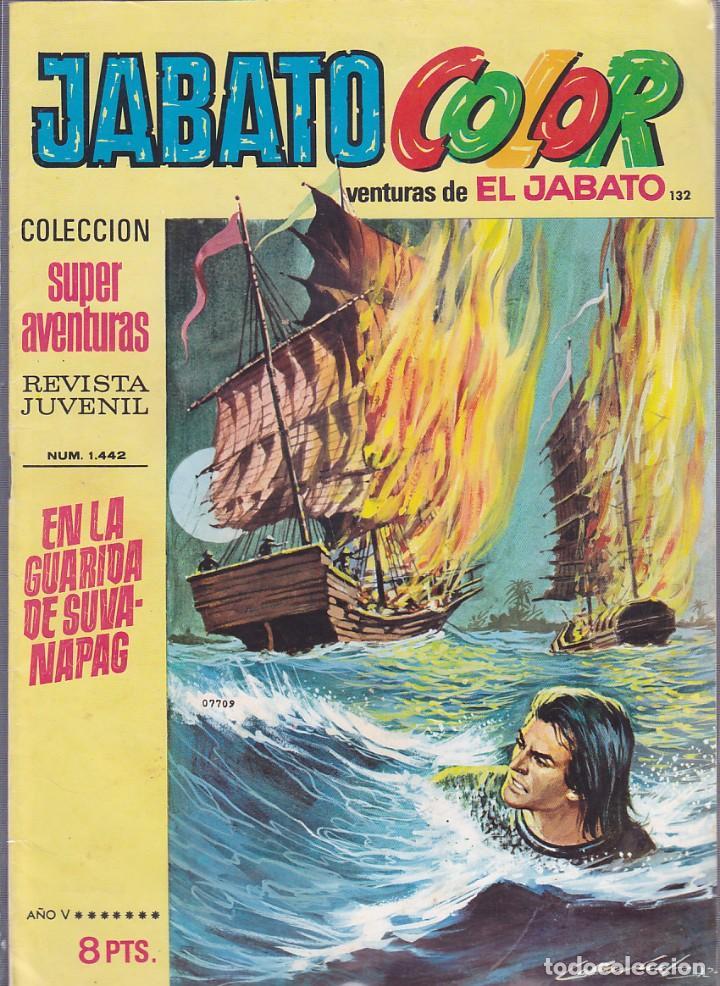 COMIC COLECCION JABATO COLOR Nº 132 (Tebeos y Comics - Bruguera - Jabato)