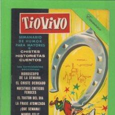 Tebeos: TIO VIVO - Nº 13 - SEMANARIO DE HUMOR PARA MAYORES - CRISOL / BRUGUERA. (1957). 1ª EDICIÓN.. Lote 171129353