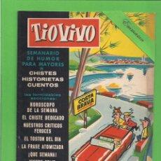Livros de Banda Desenhada: TIO VIVO - Nº 15 - SEMANARIO DE HUMOR PARA MAYORES - CRISOL / BRUGUERA. (1957). 1ª EDICIÓN.. Lote 171131415