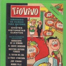 Livros de Banda Desenhada: TIO VIVO - Nº 16 - SEMANARIO DE HUMOR PARA MAYORES - CRISOL / BRUGUERA. (1957). 1ª EDICIÓN.. Lote 171132010