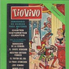 Tebeos: TIO VIVO - Nº 20 - SEMANARIO DE HUMOR PARA MAYORES - CRISOL / BRUGUERA. (1957). 1ª EDICIÓN.. Lote 171134278