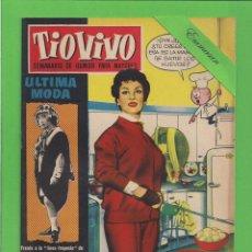 Tebeos: TIO VIVO - Nº 59 - SEMANARIO DE HUMOR PARA MAYORES - CRISOL / BRUGUERA. (1958). 1ª EDICIÓN.. Lote 171135929