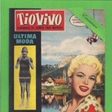 Tebeos: TIO VIVO - Nº 60 - SEMANARIO DE HUMOR PARA MAYORES - CRISOL / BRUGUERA. (1958). 1ª EDICIÓN.. Lote 171136145
