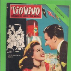Tebeos: TIO VIVO - Nº 62 - SEMANARIO DE HUMOR PARA MAYORES - CRISOL / BRUGUERA. (1958). 1ª EDICIÓN.. Lote 171136585