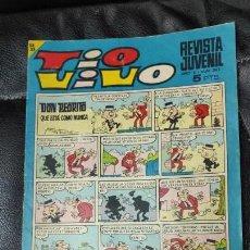 Tebeos: TIO VIVO Nº 363 5 PESETAS AÑO 1968. Lote 171167702