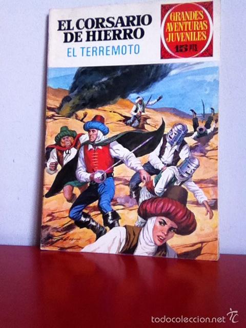 GRANDES AVENTURAS JUVENILES N 57 EL CORSARIO DE HIERRO ( EL TERREMOTO) (Tebeos y Comics - Bruguera - Corsario de Hierro)