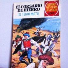 Tebeos: GRANDES AVENTURAS JUVENILES N 57 EL CORSARIO DE HIERRO ( EL TERREMOTO). Lote 171171088
