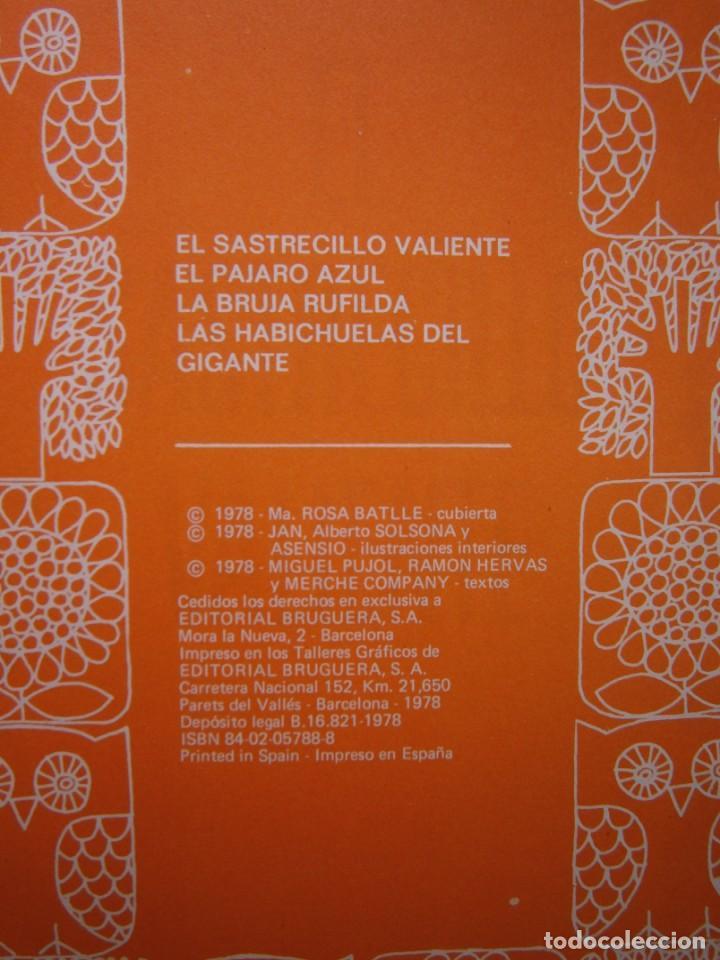 Tebeos: EL SASTRECILLO VALIENTE JAN SOLSONA ASENSIO BRUGUERA PAJARO AZUL BRUJA RUFILDA HABICHUELAS GIGANTE - Foto 9 - 171203493