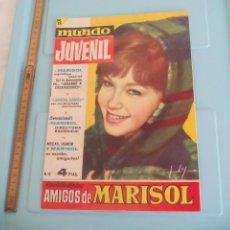 Tebeos: MUNDO JUVENIL, AMIGOS DE MARISOL, Nº 6, 1963, CUYÁS, GUILLAMÓN, ÍÑIGO, SEGURA. Lote 171212744