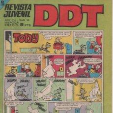 Tebeos: REVISTA JUVENIL DDT - N º 20 - 1967. Lote 171219558