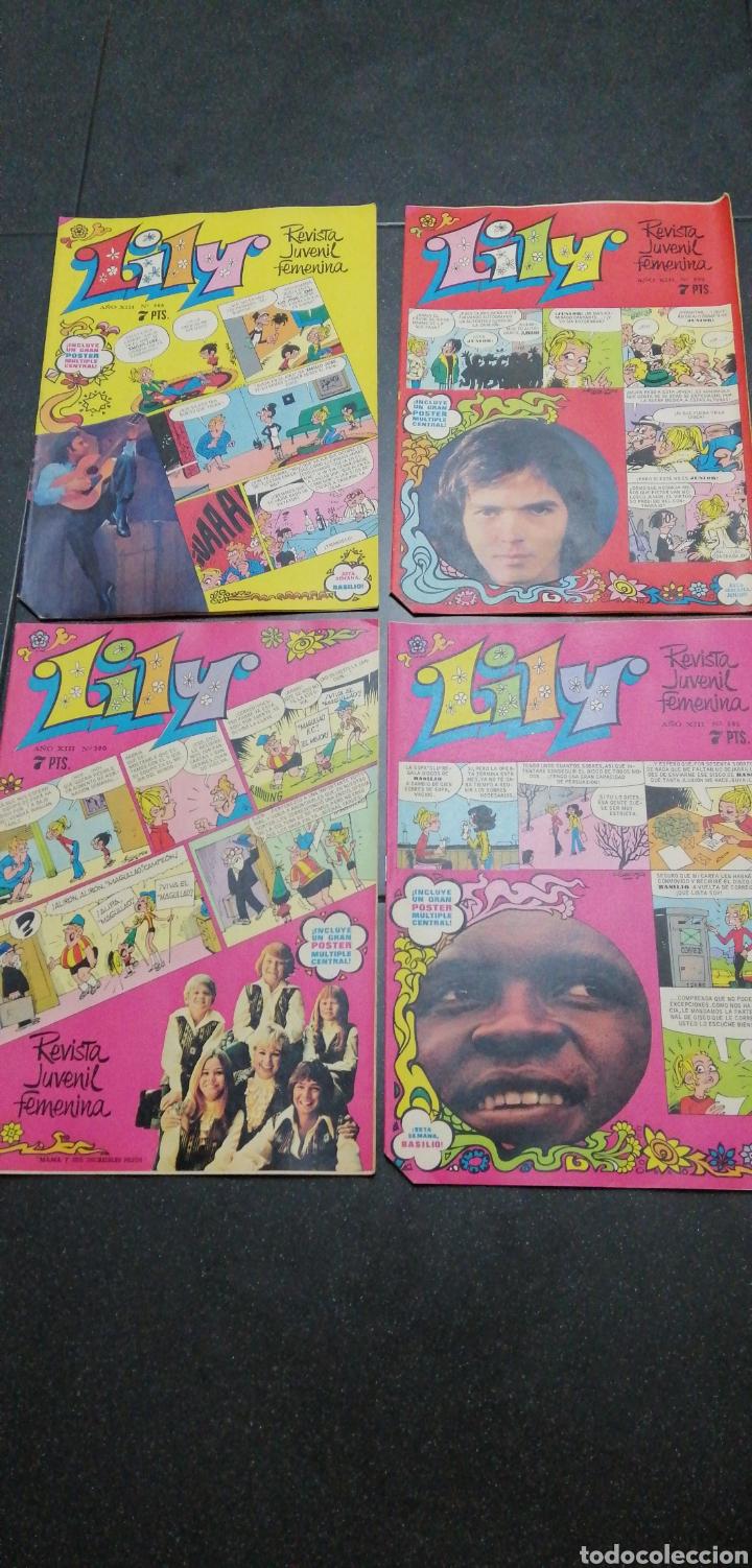 Tebeos: Lote Lily revista juvenil femenina Bruguera recortable Maleni amiga de Nancy Marisol Tebeos cómics - Foto 2 - 171258804