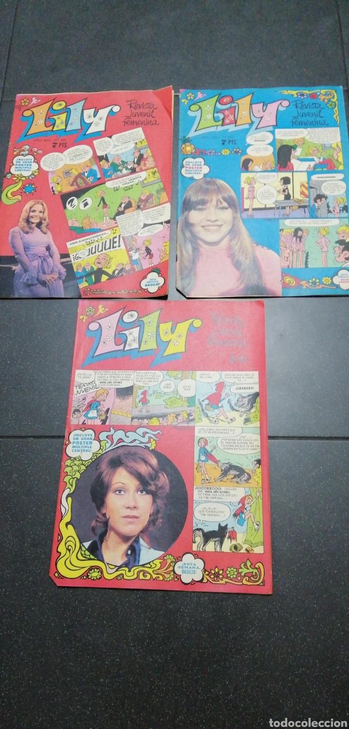 Tebeos: Lote Lily revista juvenil femenina Bruguera recortable Maleni amiga de Nancy Marisol Tebeos cómics - Foto 4 - 171258804
