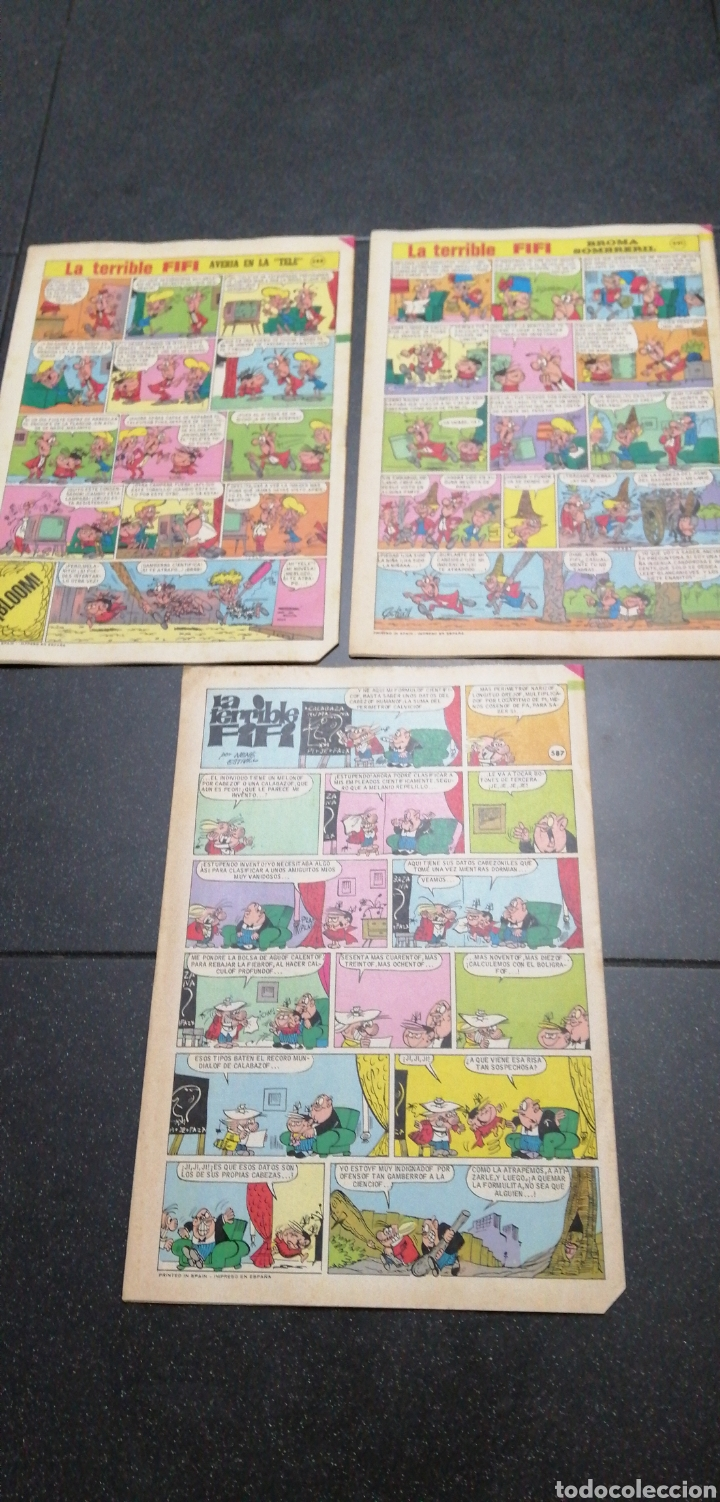 Tebeos: Lote Lily revista juvenil femenina Bruguera recortable Maleni amiga de Nancy Marisol Tebeos cómics - Foto 5 - 171258804
