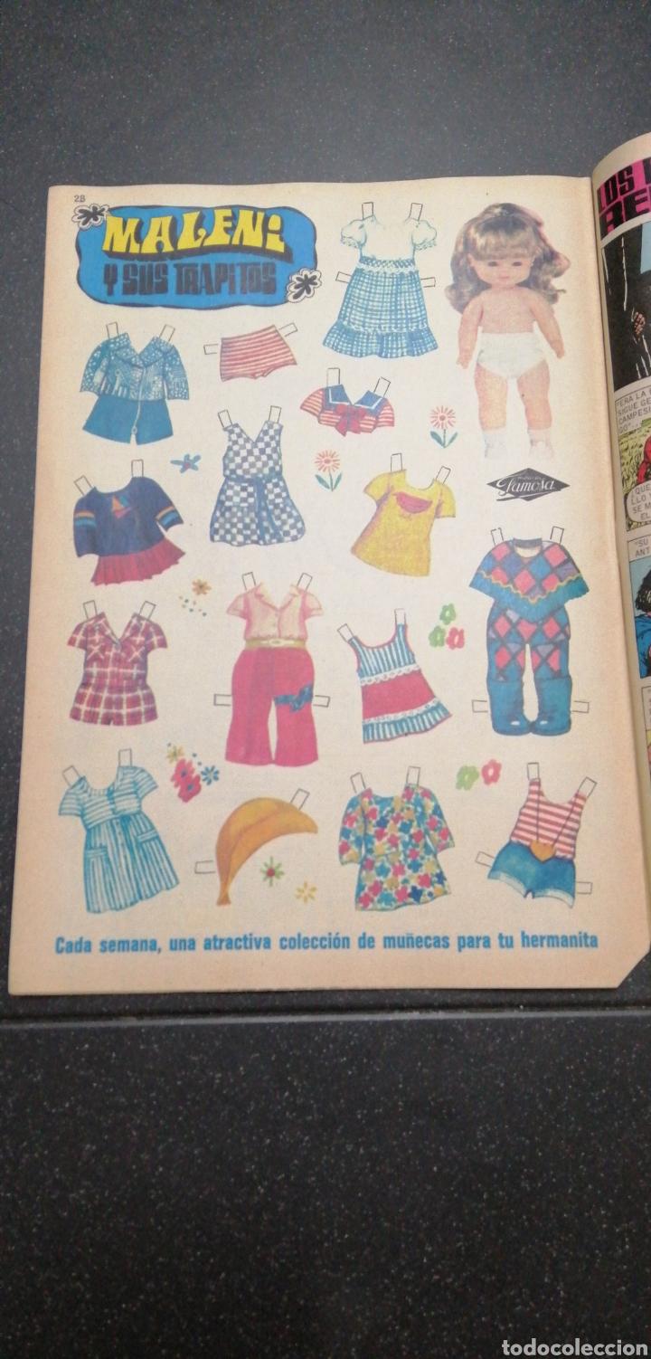 Tebeos: Lote Lily revista juvenil femenina Bruguera recortable Maleni amiga de Nancy Marisol Tebeos cómics - Foto 6 - 171258804