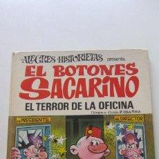 Tebeos: ALEGRES HISTORIETAS Nº 12 - EL BOTONES SACARINO - EL TERROR DE LA OFICINA - BRUGUERA 1971 CX16. Lote 171265984