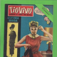 Tebeos: TIO VIVO - Nº 56 - SEMANARIO DE HUMOR PARA MAYORES - CRISOL / BRUGUERA. (1958).. Lote 171330927