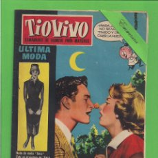 Tebeos: TIO VIVO - Nº 58 - SEMANARIO DE HUMOR PARA MAYORES - CRISOL / BRUGUERA. (1958).. Lote 171331334