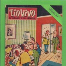 Tebeos: TIO VIVO - Nº 83 - SEMANARIO DE HUMOR PARA MAYORES - CRISOL / BRUGUERA. (1958).. Lote 171332527