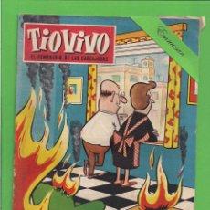 Tebeos: TIO VIVO - Nº 123 - SEMANARIO DE HUMOR PARA MAYORES - CRISOL / BRUGUERA. (1959).. Lote 171333564