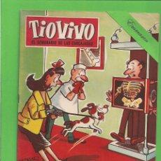 Tebeos: TIO VIVO - Nº 150 - SEMANARIO DE HUMOR PARA MAYORES - CRISOL / BRUGUERA. (1960).. Lote 171334225