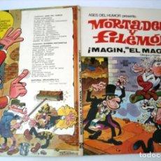 Tebeos: MORTADELO Y FILEMON - ASES DEL HUMOR 12 - MAGIN EL MAGO. Lote 171341462