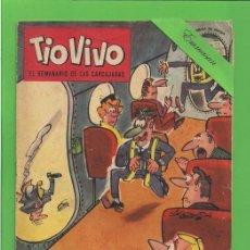 Tebeos: TIO VIVO - Nº 55 - SEMANARIO DE HUMOR PARA MAYORES - BRUGUERA. (1962) - 2ª ÉPOCA.. Lote 171341817