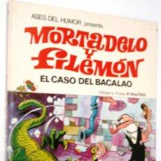 Tebeos: MORTADELO Y FILEMON - ASES DEL HUMOR 5 - BRUGERA. Lote 171342312