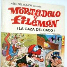 Tebeos: MORTADELO Y FILEMON - ASES DEL HUMOR 6 - LA CAZA DEL CACO - BRUGUERA 1971. Lote 171342758