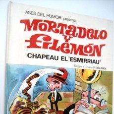 Tebeos: MORTADELO Y FILEMON - ASES DEL HUMOR 7 - CHAPEAU EL ESMIRRIAU - BRUGUERA 1971. Lote 171343972