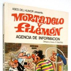Tebeos: MORTADEL Y FILEMON - ASES DEL HUMOR 8 - AGENCIA DE INFORMACION - BRUGUERA 1971. Lote 171344572