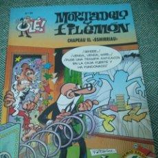 Tebeos: MORTADELO Y FILEMÓN N° 99 (EDICIONES B). CHAPEAU EL ESMIRRIAU. OLÉ!. Lote 171374914
