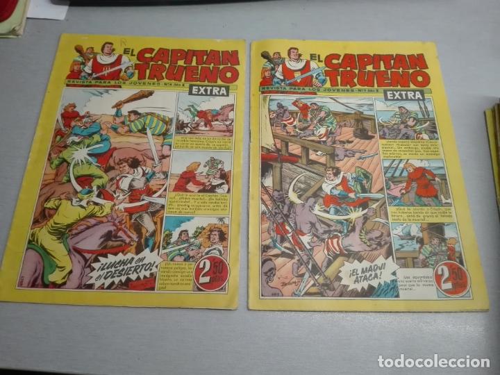 Tebeos: EL CAPITÁN TRUENO EXTRA / LOTE DE 39 NÚMEROS / BRUGUERA - Foto 2 - 171404427