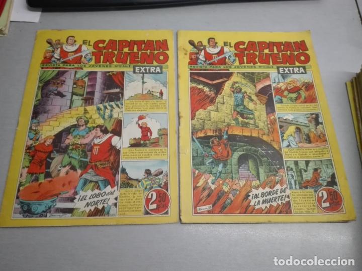 Tebeos: EL CAPITÁN TRUENO EXTRA / LOTE DE 39 NÚMEROS / BRUGUERA - Foto 4 - 171404427