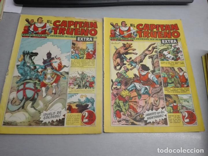 Tebeos: EL CAPITÁN TRUENO EXTRA / LOTE DE 39 NÚMEROS / BRUGUERA - Foto 5 - 171404427