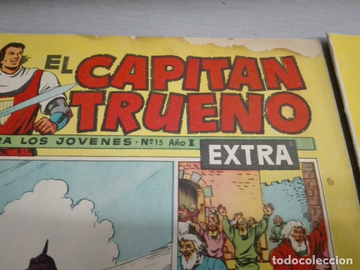 Tebeos: EL CAPITÁN TRUENO EXTRA / LOTE DE 39 NÚMEROS / BRUGUERA - Foto 6 - 171404427