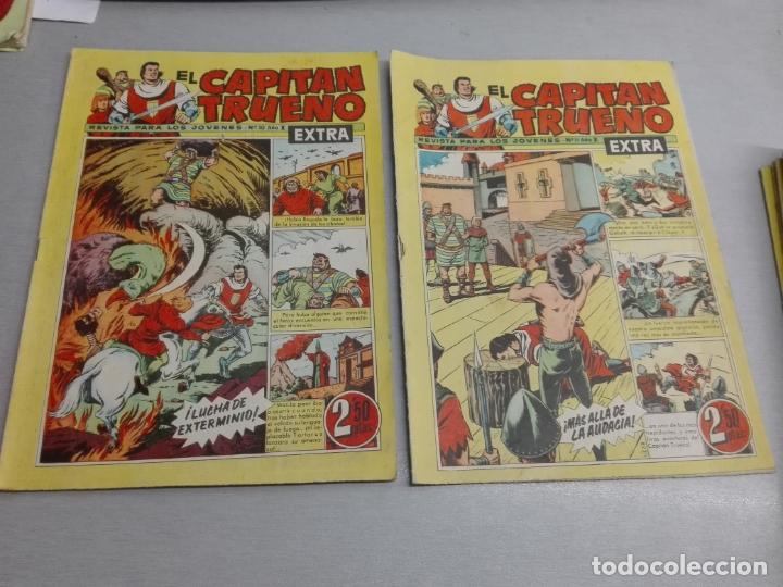 Tebeos: EL CAPITÁN TRUENO EXTRA / LOTE DE 39 NÚMEROS / BRUGUERA - Foto 11 - 171404427
