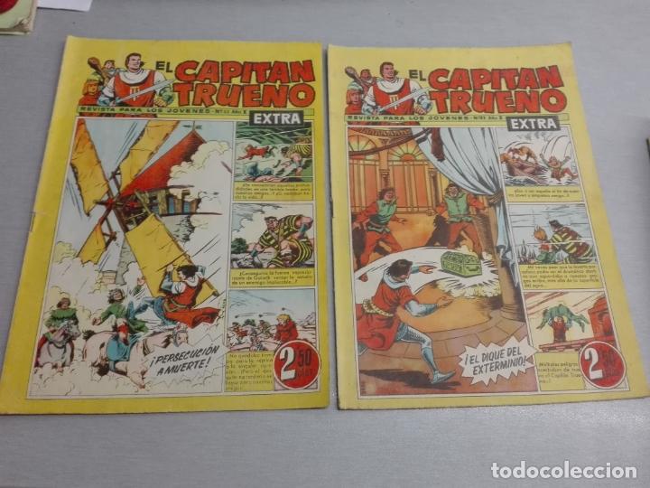 Tebeos: EL CAPITÁN TRUENO EXTRA / LOTE DE 39 NÚMEROS / BRUGUERA - Foto 12 - 171404427
