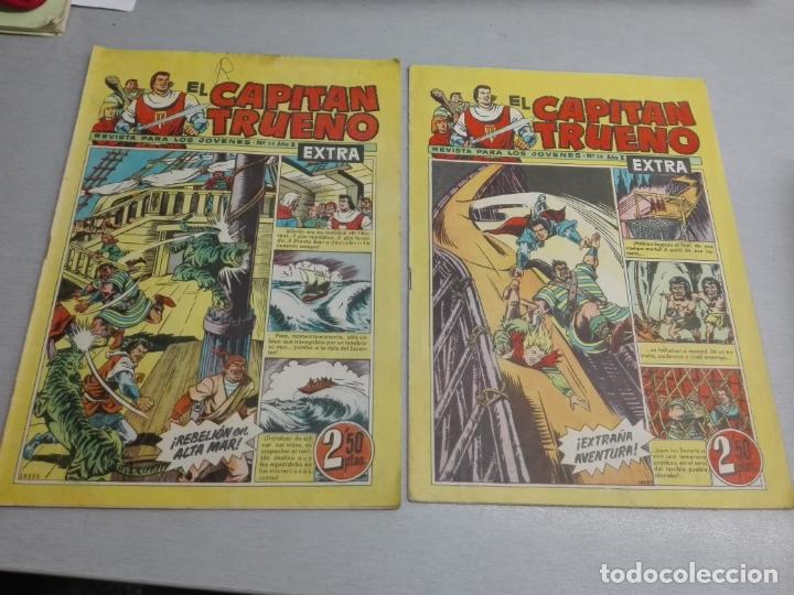 Tebeos: EL CAPITÁN TRUENO EXTRA / LOTE DE 39 NÚMEROS / BRUGUERA - Foto 13 - 171404427