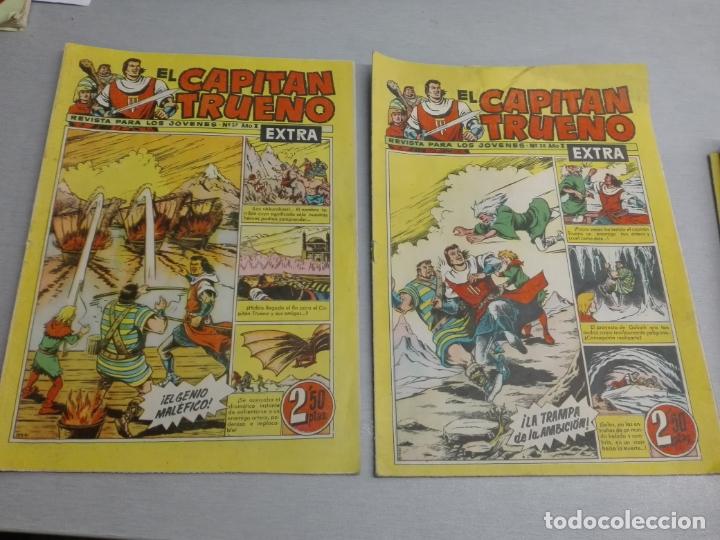 Tebeos: EL CAPITÁN TRUENO EXTRA / LOTE DE 39 NÚMEROS / BRUGUERA - Foto 14 - 171404427