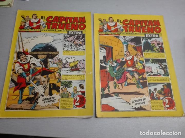 Tebeos: EL CAPITÁN TRUENO EXTRA / LOTE DE 39 NÚMEROS / BRUGUERA - Foto 15 - 171404427