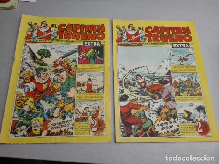 Tebeos: EL CAPITÁN TRUENO EXTRA / LOTE DE 39 NÚMEROS / BRUGUERA - Foto 16 - 171404427