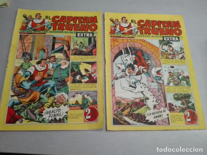 Tebeos: EL CAPITÁN TRUENO EXTRA / LOTE DE 39 NÚMEROS / BRUGUERA - Foto 18 - 171404427