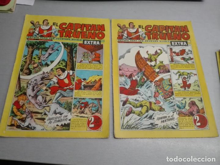 Tebeos: EL CAPITÁN TRUENO EXTRA / LOTE DE 39 NÚMEROS / BRUGUERA - Foto 20 - 171404427