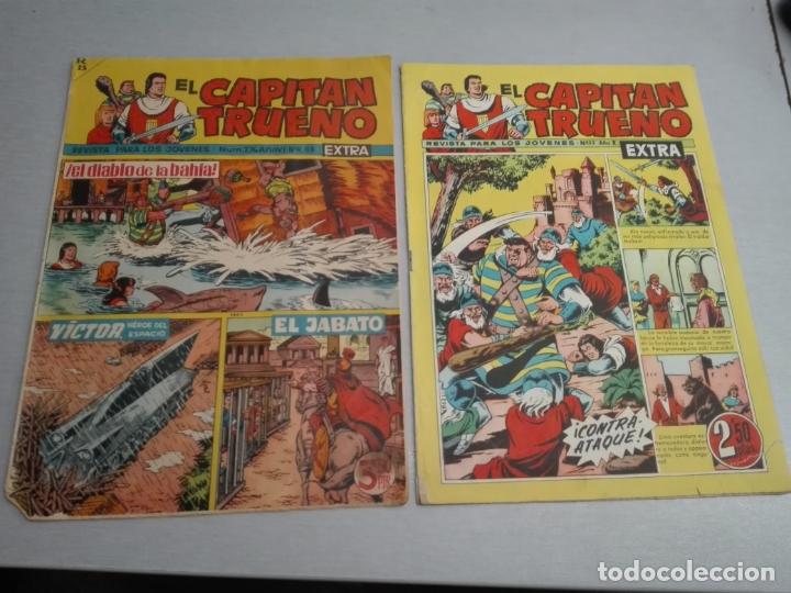 Tebeos: EL CAPITÁN TRUENO EXTRA / LOTE DE 39 NÚMEROS / BRUGUERA - Foto 26 - 171404427