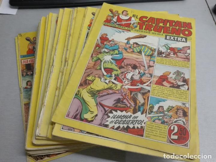 EL CAPITÁN TRUENO EXTRA / LOTE DE 39 NÚMEROS / BRUGUERA (Tebeos y Comics - Bruguera - Capitán Trueno)